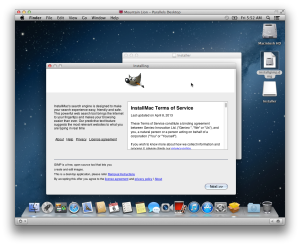 InstallMac TOS