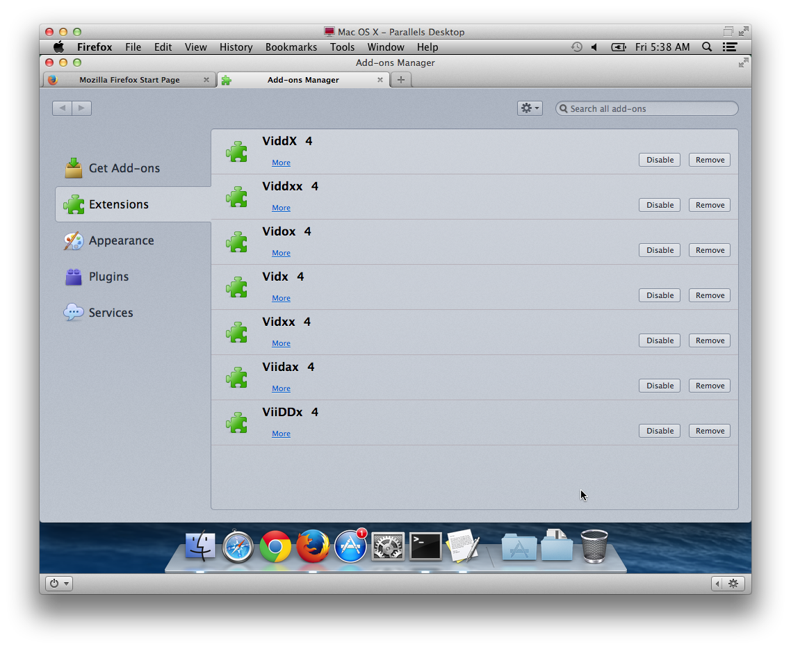 The Safe Mac » Adware Removal Guide : Vidx