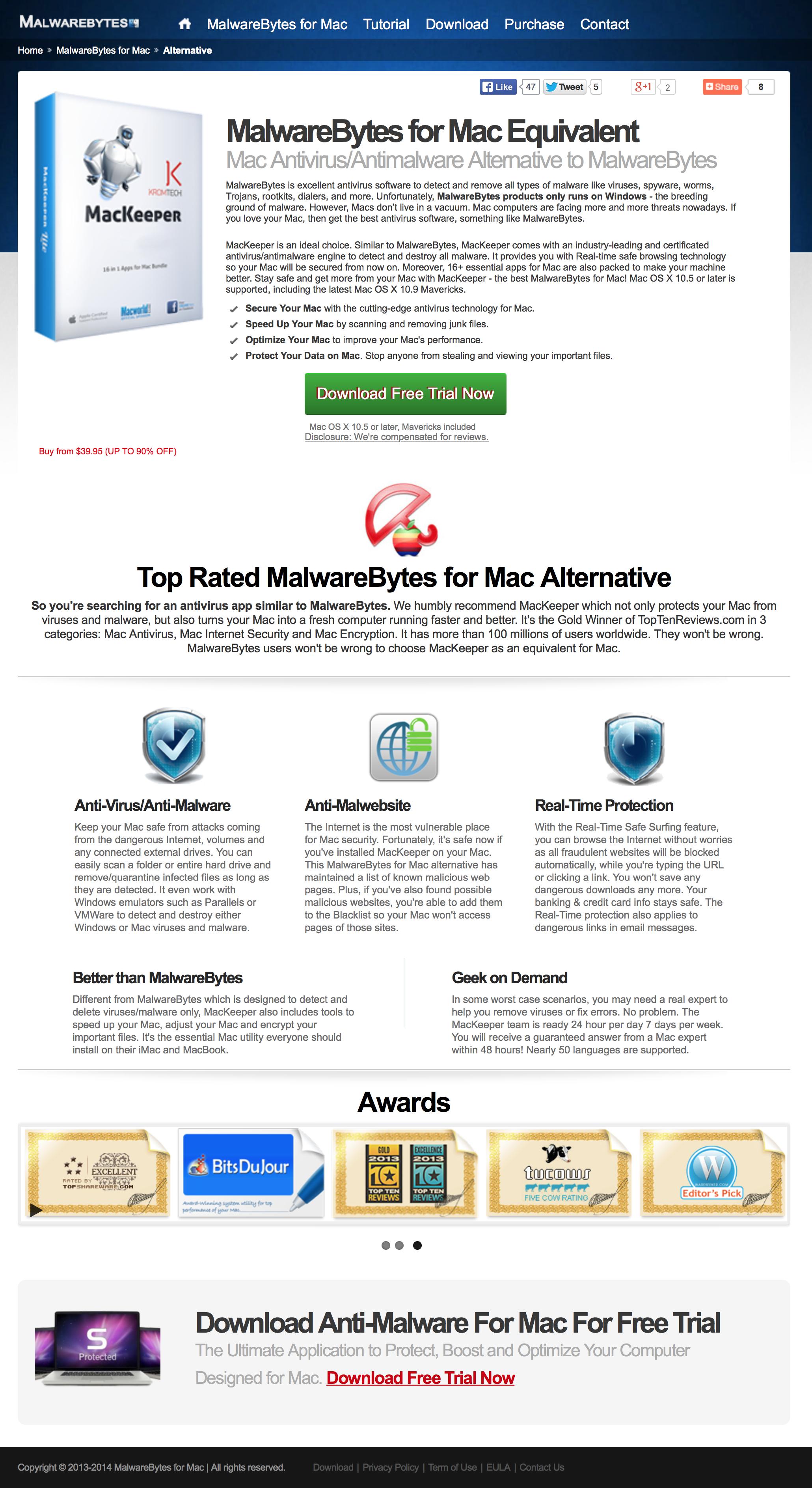 The Safe Mac » Ongoing MacKeeper fraud