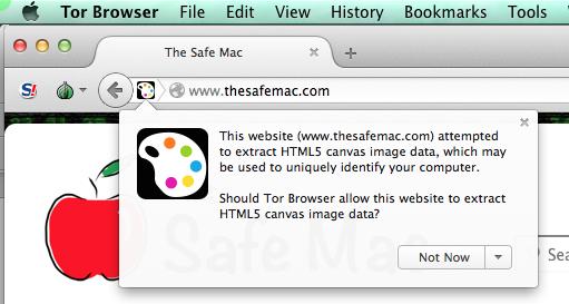 The Safe Mac » Tor Browser false positive